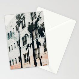 palm mural venice ii Stationery Cards