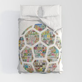 Philately Soccer Ball Comforters
