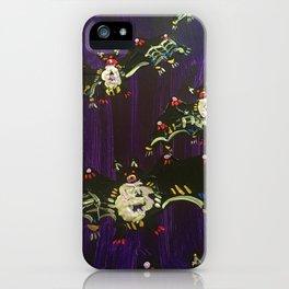 Black Bats iPhone Case