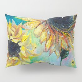 Supermassive Sunflowers Pillow Sham