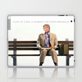 Forrest Gump Parody Of Donald Trump Laptop & iPad Skin