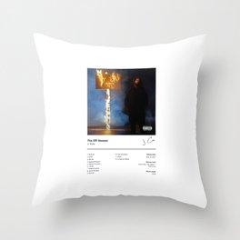 J. Cole - The Off-Season (Album Cover) Hip Hop Art Music Throw Pillow