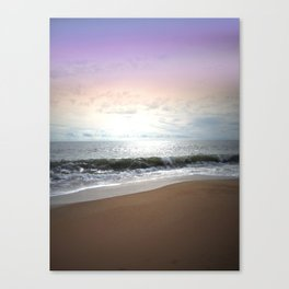 Light Pastel Seascape Canvas Print