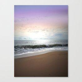 Light Pastel Seascape Canvas Print