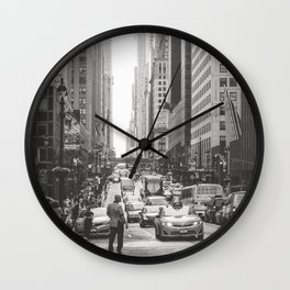 That New York Minute Wall Clock