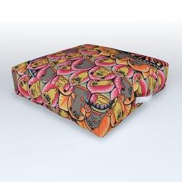 Pug Yoga Mandala Outdoor Floor Cushion