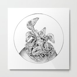 Witches' Market Metal Print