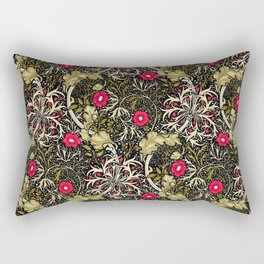 "William Morris ""Seaweed"" 5. Rectangular Pillow"