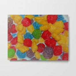 Tasty Cereal Metal Print