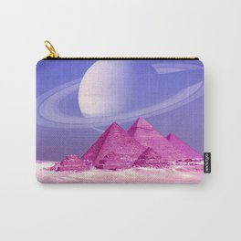 Pyramids, Saturn & the Desert Carry-All Pouch