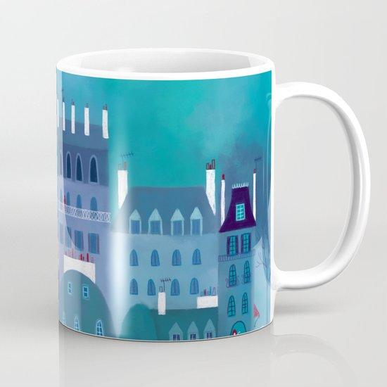 Paris Blues Mug