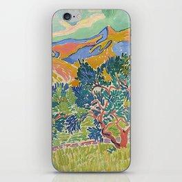 Good Mountain by Henri Matisse iPhone Skin