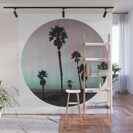 Summer in a Circle Wall Mural