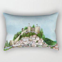 Lisboa landscape Rectangular Pillow