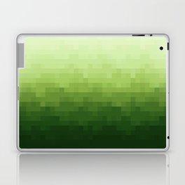 Gradient Pixel Green Laptop & iPad Skin