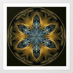 Nautical Star Art Print