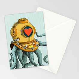 I'm falling in love with you? (right) Stationery Cards