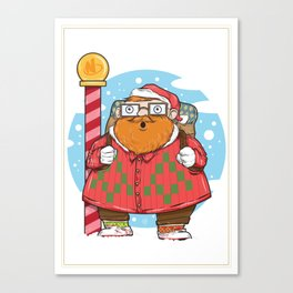 Kris the Hipster Canvas Print