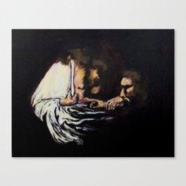 Doubting Thomas Canvas Print