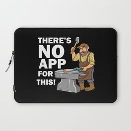 Blacksmith Design: There's No App For This I Steel Workshop Laptop Sleeve