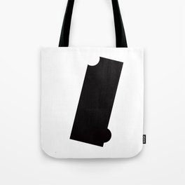 Black and White Element VII Tote Bag