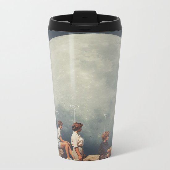 FriendsnotFriends Metal Travel Mug