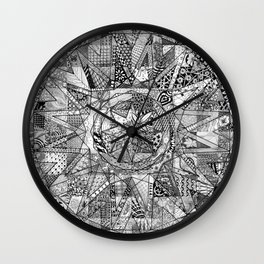 Mandala 3 Wall Clock