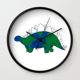Earth Steggy Wall Clock