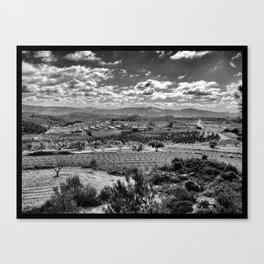 Vista de la Terra Alta Canvas Print