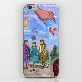 MONGOLFIERE iPhone Skin
