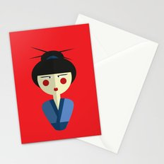 Japanese Doll Stationery Cards