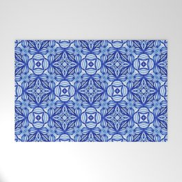 For the Love of Blue - Pattern 372 Welcome Mat