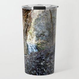 Alone in Secret Hollow with the Caves, Cascades, Critters, No. 14 of 21 Travel Mug