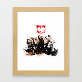 Polish Power Framed Art Print