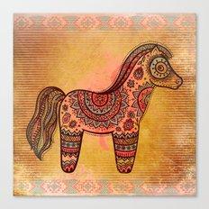 Ceremonial Indian Horse Canvas Print