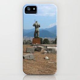Pompeii's ruins iPhone Case
