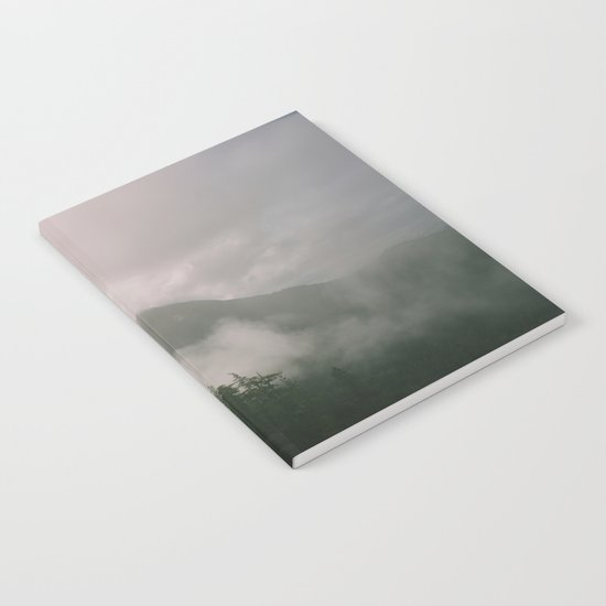 Foggy Forest (Squamish, British Columbia, Canada) Notebook