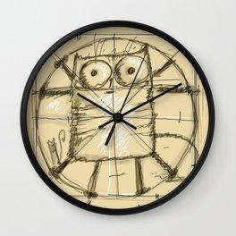 Kot da Vinci Wall Clock