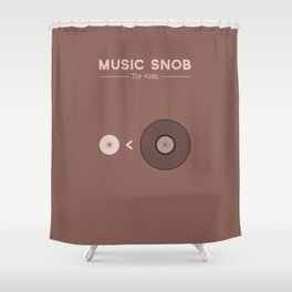 "Still NOT ""The New Vinyl"" — Music Snob Tip #082.5 Shower Curtain"