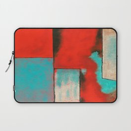 The Corners of My Mind, Abstract Painting Laptop Sleeve