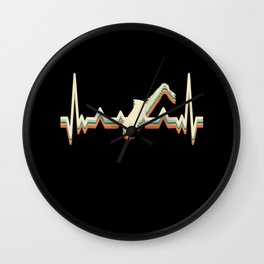Heartbeat EKG Theater Musical Opera Saxophone Wall Clock