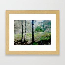 trees2... Framed Art Print