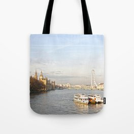 The parliament and the eye Tote Bag