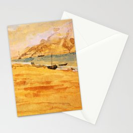 Study For Mouth Of The River 1877 By James Mcneill Whistler | Reproduction Stationery Cards