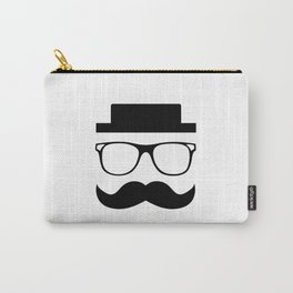 Hipster Mustache Carry-All Pouch