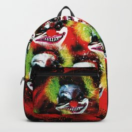 Halloween Horrorclown Collage Backpack
