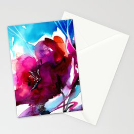 Colorful Bloom No. 2 by Kathy Morton Stanion Stationery Cards