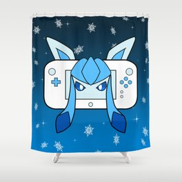 Ice Game Shower Curtain