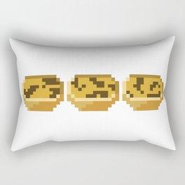 3 Natas Rectangular Pillow
