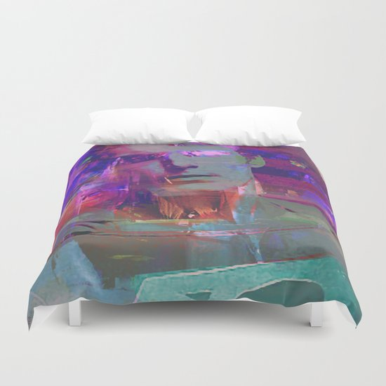 Super Abstract Man Duvet Cover